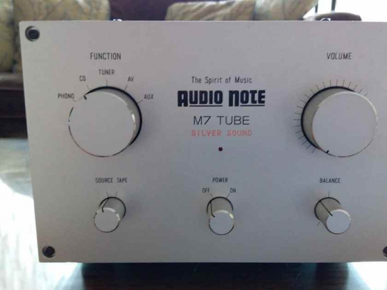 Audio Note Japan M7 with phono / AN-S6C