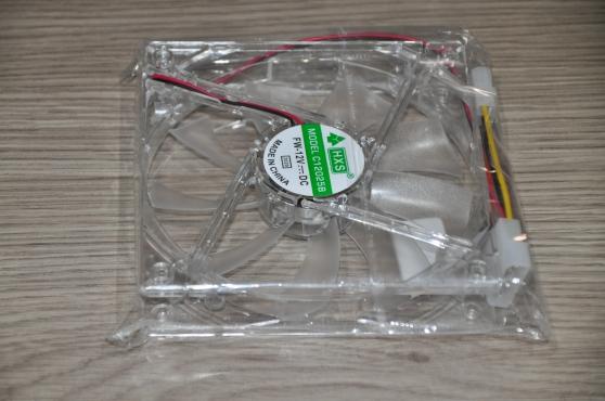 Annonce occasion, vente ou achat 'Ventilateur Led verte connecteur Molex'