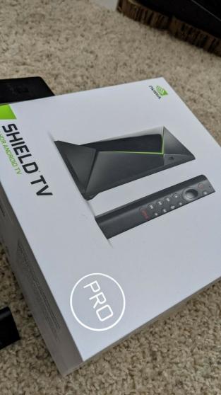 Annonce occasion, vente ou achat 'Nvidia Shield Tv pro 2019'