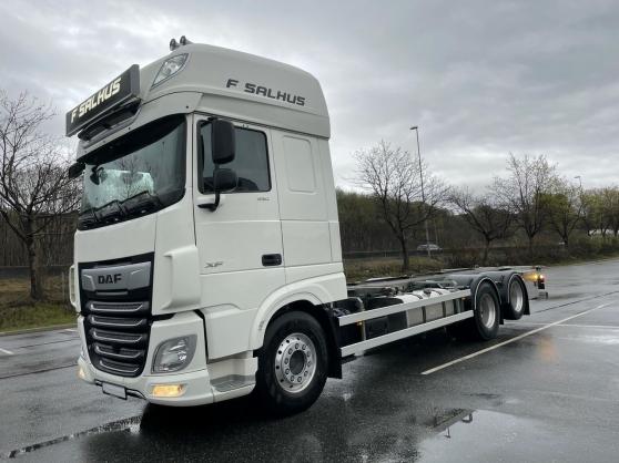 Annonce occasion, vente ou achat 'camion porte-conteneurs DAF XF530FAS'