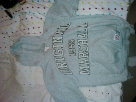 pull US MARSHALL gris taille m