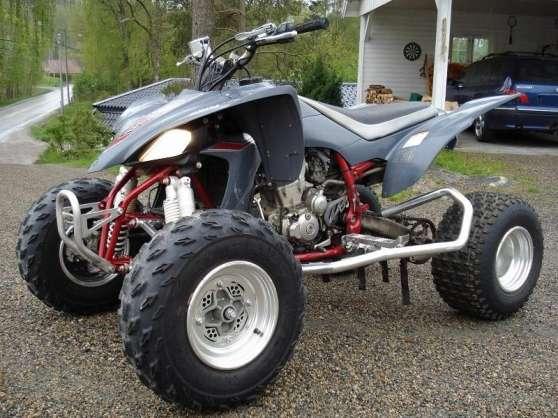quad yamaha raptor homologu yfz 450 ch lette sur loing moto scooter v lo quads ch lette. Black Bedroom Furniture Sets. Home Design Ideas