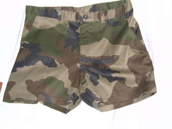 Petite Annonce : Short camo ce outre mer neuf - Short original camo ce outre mer neuf 2 poches, braguette,