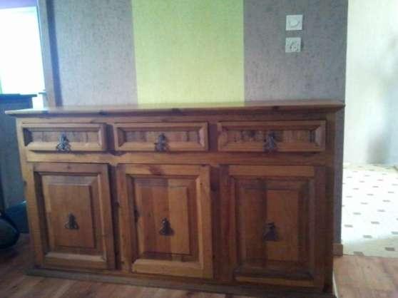 buffet et table style mexicain ch ne meubles d coration meuble ruelle sur touvre reference. Black Bedroom Furniture Sets. Home Design Ideas