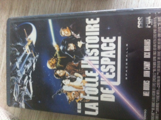 La folle histoire de l'espace, VHS