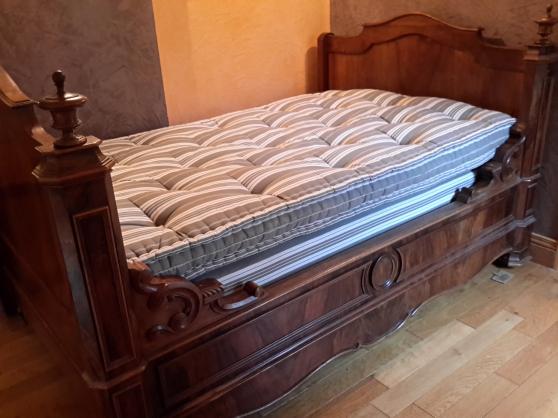 lit ancien louis philippe merisier et no meubles d coration lits montauban reference meu. Black Bedroom Furniture Sets. Home Design Ideas