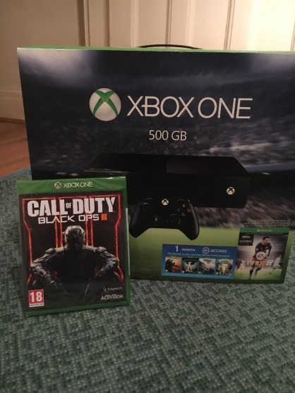 Donne Microsoft Xbox One 500 Go Noir