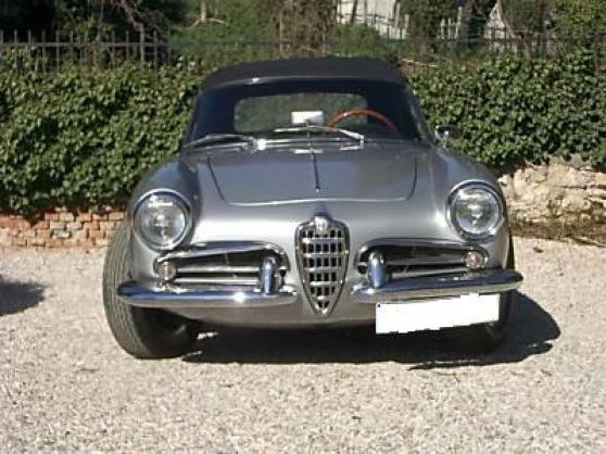 Alfa Romeo Giulietta Cabriolet 1961