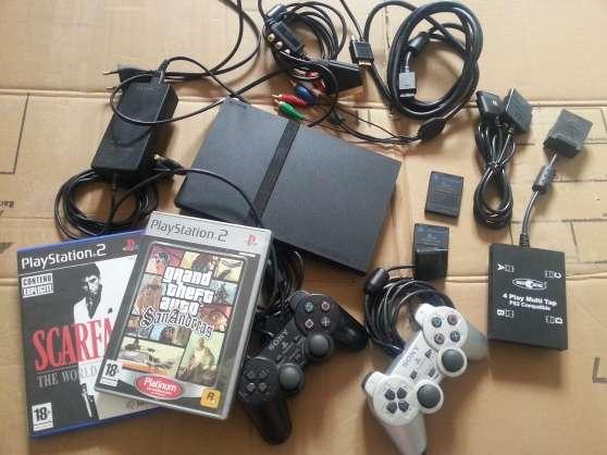 Playstation 2 PS2 + 2 jeux et accessoire