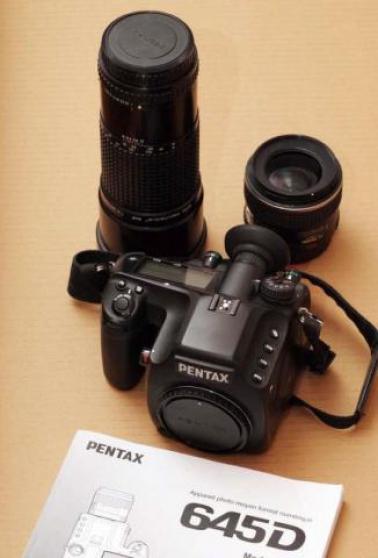 Pentax 645D + Pentax 55mm + 300mm