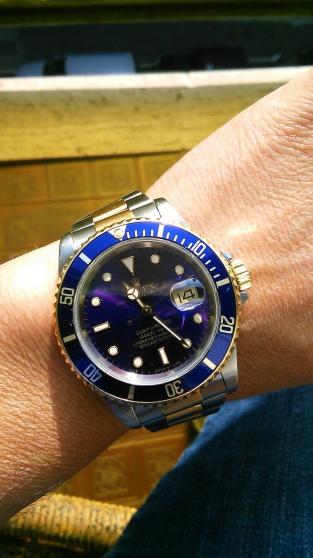 Annonce occasion, vente ou achat 'Montre Rolex Explorer II ref 216570'