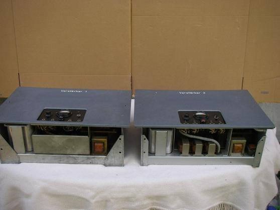 paire siemens amplificateur à tube 6 s e - Annonce gratuite marche.fr