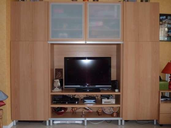 meuble tv t l design ikea living houilles meubles d coration armoires murales t l. Black Bedroom Furniture Sets. Home Design Ideas