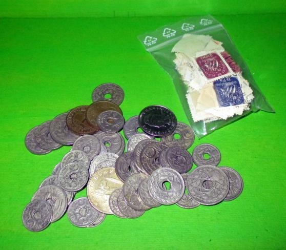 lot cpa-monnaies-timbres. - Photo 3