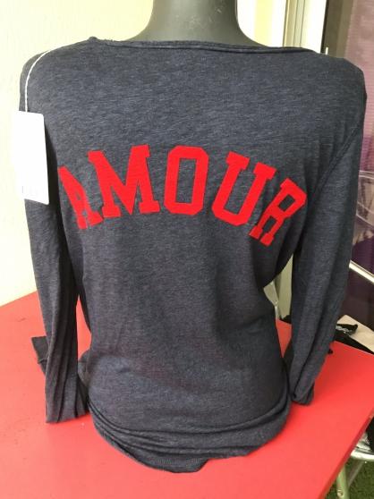 Tee shirt «amour« zadig et Voltaire