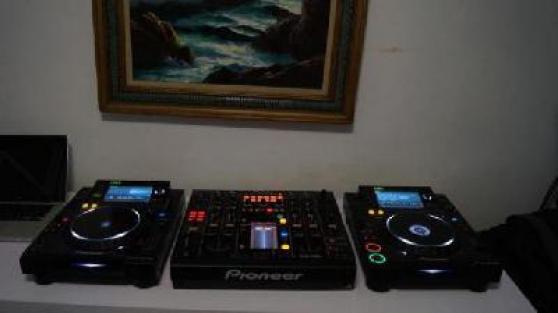 Pack de pioneer CDJ2000 et DJM 2000