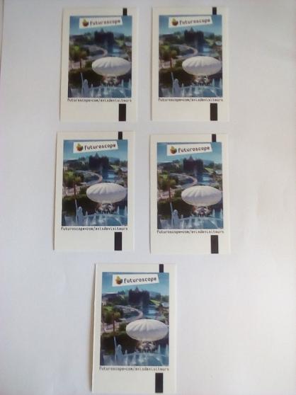 Futuroscope billets adultes/30 euros