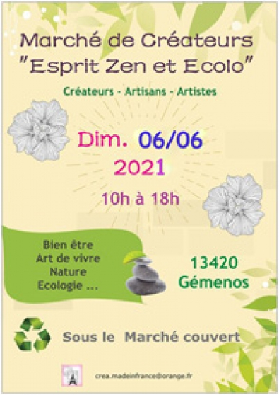 Marché créateurs esprit zen & ecolo