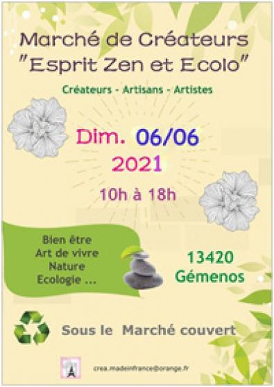 Annonce occasion, vente ou achat 'Marché créateurs esprit zen & ecolo'