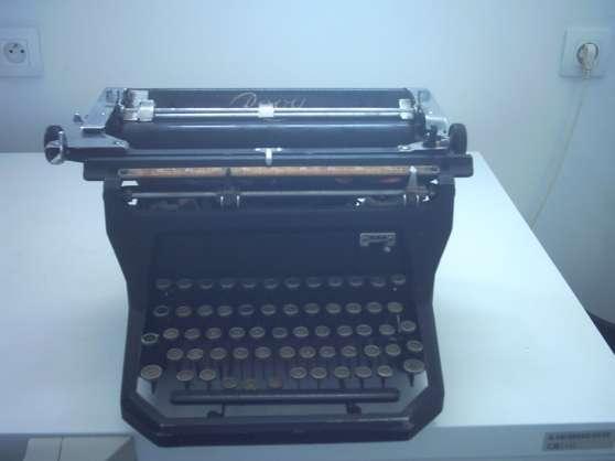 Annonce occasion, vente ou achat 'machine a écrire'