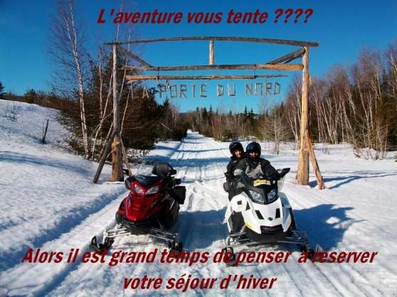 découvrez  la magie de l'hiver au québec - Annonce gratuite marche.fr