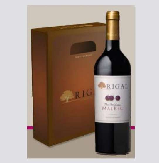 Annonce occasion, vente ou achat 'Coffret Rigal The Original Malbec 2011'