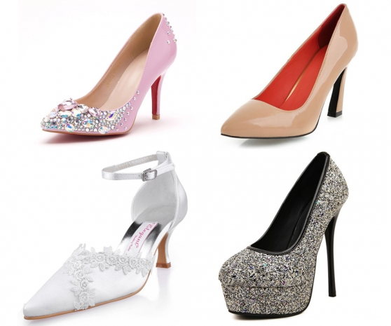 Escarpins, stilettos, chaussures femme