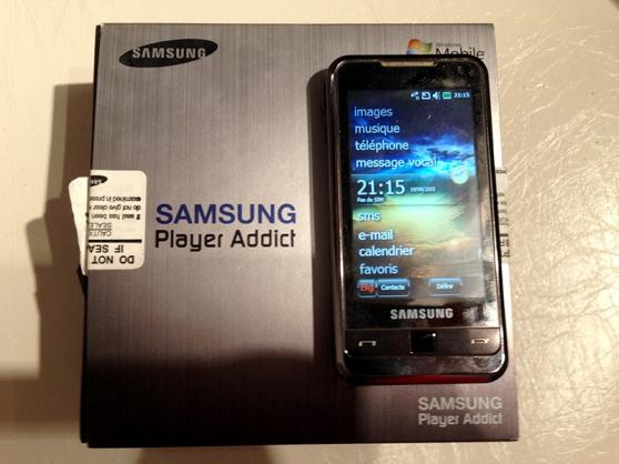 SAMSUNG Player Addict (i900)
