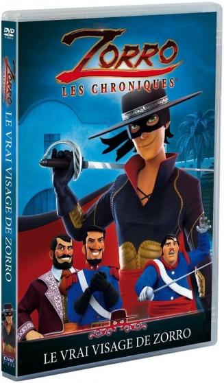 Petite Annonce : Dvd zorro, les chroniques - vol. 2 - Dvd Zorro, les chroniques - Vol. 2 : Le vrai visage de Zorro  dvd