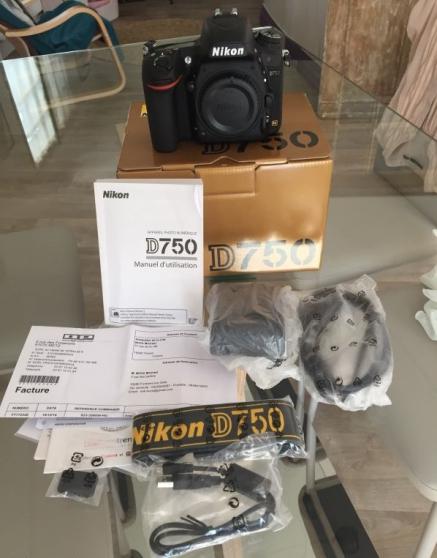 Boitier Nikon D750