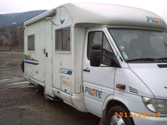 pilote p 72 mercedes 316 caravanes camping car camping. Black Bedroom Furniture Sets. Home Design Ideas