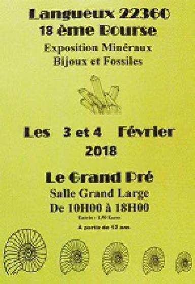 18ème bourse aux minéraux et fossiles - Annonce gratuite marche.fr