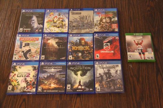 jeux playstation 4 ps4 xbox one - Annonce gratuite marche.fr