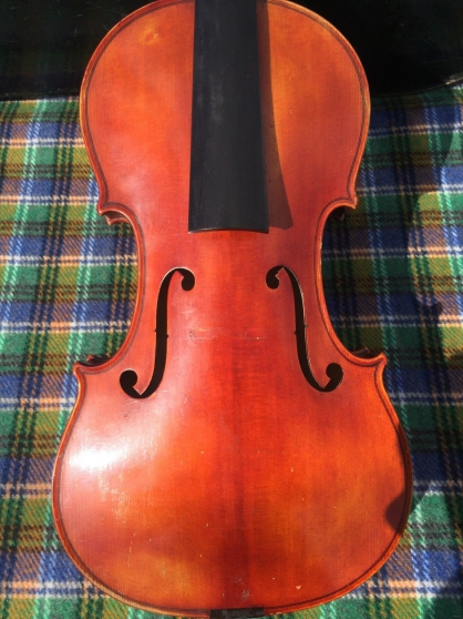 Annonce occasion, vente ou achat 'Violin Violon Geige Jules Lamy'