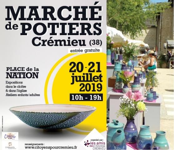 MARCHE DE POTIERS DE CREMIEU