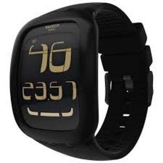 montre swatch touch noire