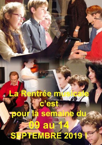 Annonce occasion, vente ou achat 'La rentrée à l'Espace Amadeus Musique'