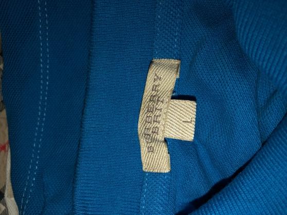 Annonce occasion, vente ou achat 'Polo L burberry'
