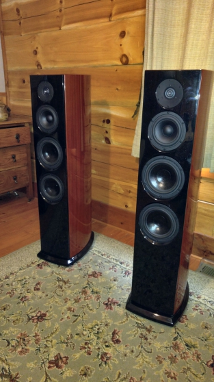 Aerial Acoustics 7T in Gloss Rosenu