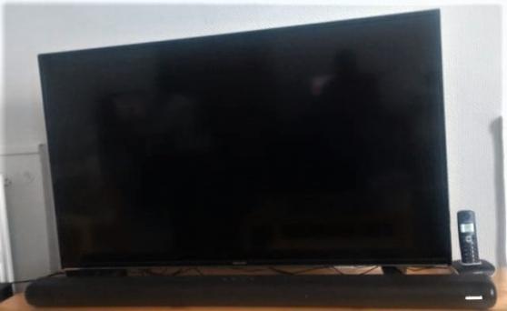 "SMART TV 4K 50 "" + BARRE de SON"