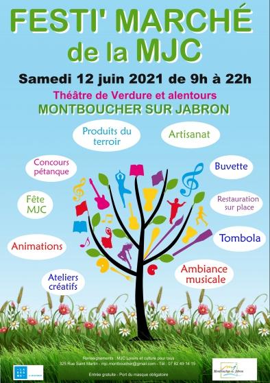 Annonce occasion, vente ou achat 'Festi Marché de la MJC de Montboucher'