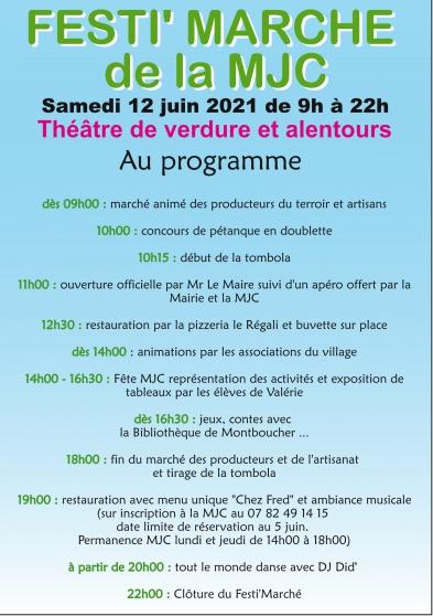 Festi Marché de la MJC de Montboucher - Photo 2