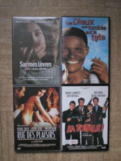 lot de 4 dvds