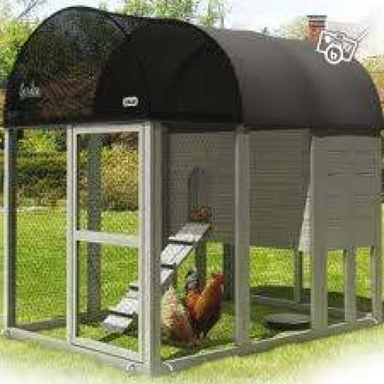 poulailler zolux 168x130x120cm poule coq animaux accessoires pour animaux vosnon reference. Black Bedroom Furniture Sets. Home Design Ideas