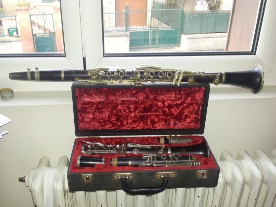 Annonce occasion, vente ou achat '2 clarinettes ancienne'