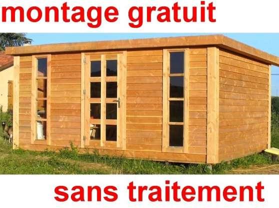 Chalet abris de jardin 16m bois douglas jardin nature pavillon arbri serre charnay l s - Chalet de jardin occasion a vendre ...