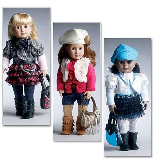 Patrons poupées (journey girls)