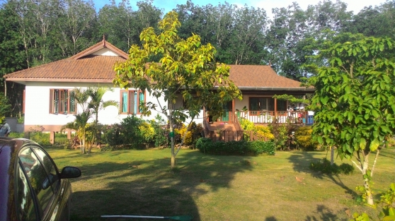Vends maison grand terrain Krabi Ao Nang