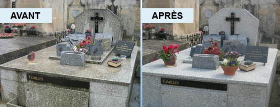 Annonce occasion, vente ou achat 'Nettoyage de Tombes et de Columbariums'