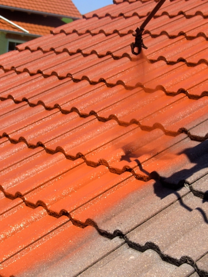 INOVTEINT : Hydrofuge coloré toiture
